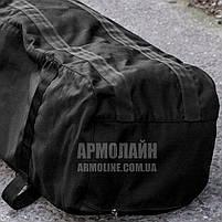 Сумка - баул 80л. Black, фото 5