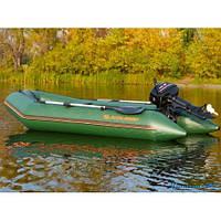 Надувная моторная лодка (cпайолом слань коврик) Стандарт KDB КМ-330 / 68-034