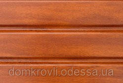 Софит для подшивки карниза Asko дуб золотой панель 3,5 м