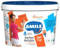 Краска фасадная «SMILE®» SF12 1,4 кг/1л