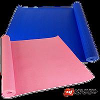 Коврик для йоги и фитнеса HOP-SPORT PVC 1730х610х4мм