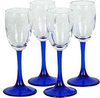 Набор рюмок для ликера Pasabahce Imperial Blue 60мл (440043)-4шт