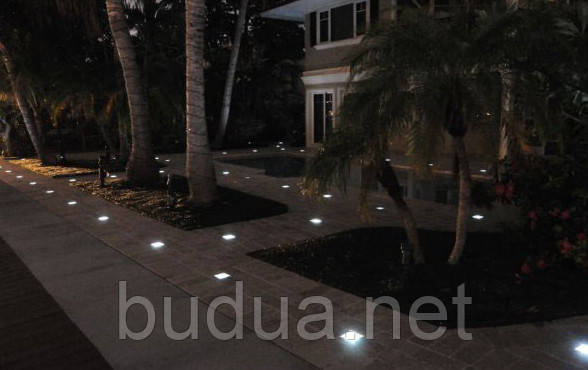 Светодиодная тротуарная плитка