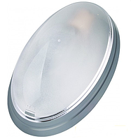 Светильник HOROZ ELECTRIC 26W (Флуе) Овал Серебро