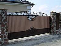 Ворота кованые от производителя, Киев, Украина