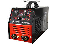 Зварювальний інвертор для зварювання алюмінію і нержавіючої сталі Titan PAD200ACDC