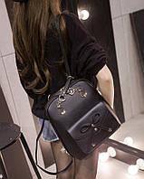 Сумка рюкзак женская с бантиком.