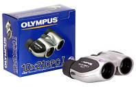 Бинокль Olympus 10x21 DPC I Silver