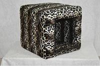 Домик Кубус Леопард-1 для котов и собак