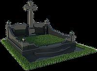 Памятник с крестом из гранита  П - С 36
