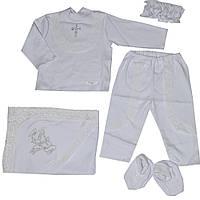 Комплект для крещения детский для девочки, фото 1
