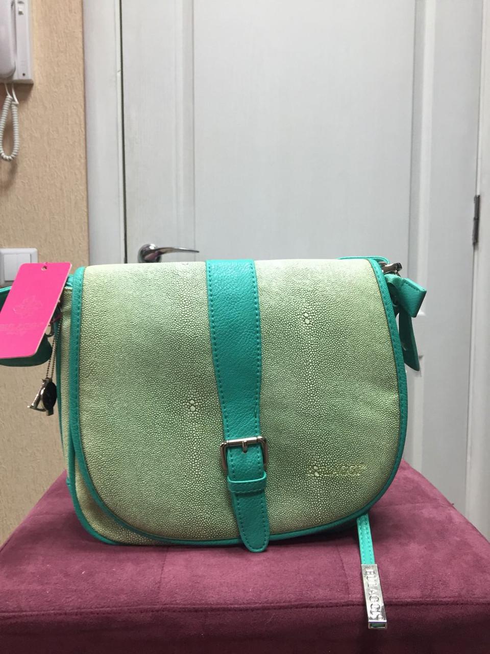 женская сумка-почтальйонка на длинном ремне Bulaggi