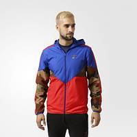 Мужская  ветровка Adidas Essentials CLRDO (Артикул: AY8171)