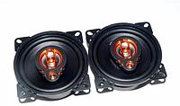 Автомобильная акустика Megavox MET-4274 (10 см), динамики коаксиальные двухполосные