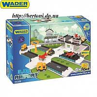 WADER Kid Cars 3D Аэропорт арт. 53350