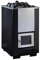 Печь дровяная PAL PK 16SI без выноса, дверца стекло стекло увеличенное 220х220