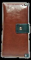 Эффектный женский кошелек коричневого цвета SHZ-500515