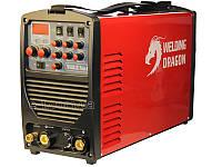 Аргон зварювання алюмінію і нержавіючої сталі Welding Dragon TM200ACDC Pulse HF