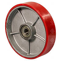 Колеса без кроншт. с шарик.подш. для грузоподъёмной техникиØ125,180,200мм