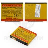 Батарея Avalanche для мобильного телефона LG ALMP-P-LG.KP500CP0850, (Li-ion 3.7V 850mAh)