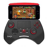 Стильный геймпад поддерживающий Bluetooth для смартфона iPega PG-9028. Наличие тач-пада. Код: КГ406