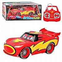 """Машина 699-46-46 АВ """"Тачки"""", на радиоуправлении, 3 вида, на батарейках, герой мультика, радость ребенку"""