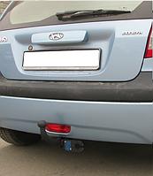 Фаркоп на Hyundai Getz (с 2005--) Хюндай Гетз