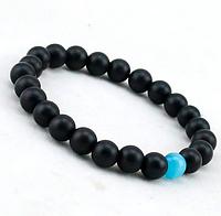 Мужской браслет из Шунгита