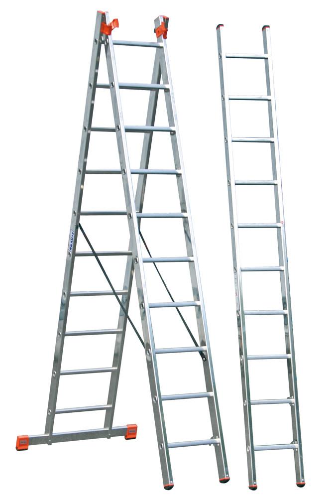 Оренда Лестница алюминиева трехсекционна 3х10 ступеней