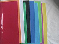 Флексика, фоамиран, бомик А4, набор микс 10 листов,толщина 2мм, фото 1