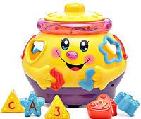 """Игрушка """"Горшочек-логика музыкальный"""" Joy Toy (0915)"""