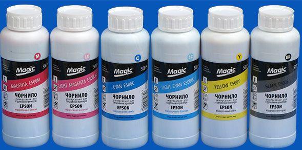 Комплект чорнила Magic Epson 6x1000 мл