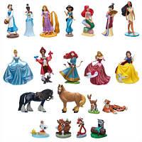 Мега набор Дисней 20 фигурок Принцессы и животные/ Princess Play Mega Set Disney
