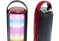 Блютуз колонка с светомузыкой WS-1602 (портативные динамикиPortable wireless speaker)