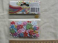 """Наклейки цветы из ткани """" 1 Вересня """" Набор для творчества"""