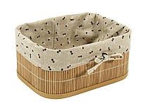 Ящик плетенный из бамбука 23Х30 см