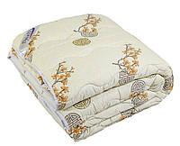 Одеяло стеганное Феличита 100% шерсть 155х215