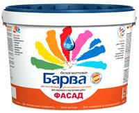 Краска Барва® «ФАСАД» SF-11 акриловая 4,2кг/3л