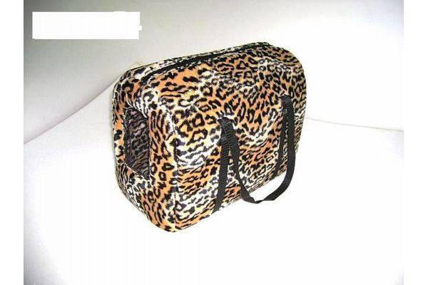 Сумка-туннель Леопард для переноски котов и собак, фото 2