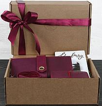 Подарочный набор из трех предметов Париж, для нее BlankNote BN-set-access-2 цвет виноград