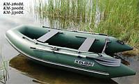 Надувная моторная лодка (с пайолом слань книжка) Лайт KDB КМ-280DL / 83-445