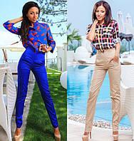 Женские брюки с завышенной талией №600 (р.42-46)