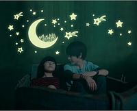 Интерьерная наклейка Ночь