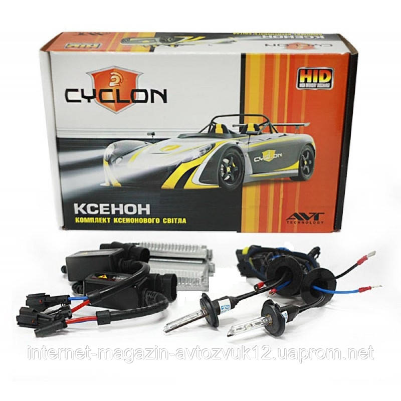 Ксенон Cyclon Slim 35W Н3 6000K Xenon