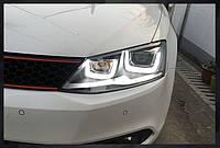Альтернативная оптика VW Jetta тюнинг-оптика U style V2