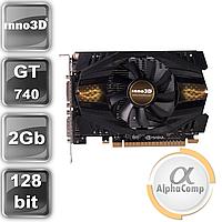 Видеокарта PCI-E NVIDIA Inno3D GT740 (2GB/GDDR5/128bit/VGA/DVI/miniHDMI) БУ, фото 1