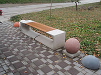 """Скамейка """"ПРЕСТИЖ"""". Лавочки бетонные Днепропетровск. В наличии и под заказ от производителя."""