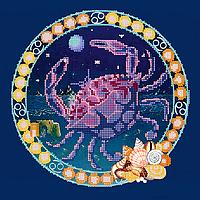 Схема для вышивки бисером POINT ART Рак, размер 25х25 см