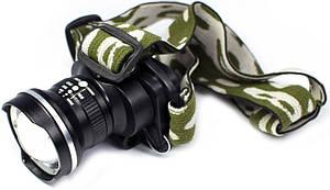 Ліхтарик налобний металевий POLICE BL-6807 XPE 99000W+ЗУсеть+авт 3реж zoom