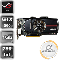 Видеокарта PCI-E NVIDIA Asus GTX560 (1Gb/GDDR5/256bit/2хDVI/miniHDMI) БУ, фото 1